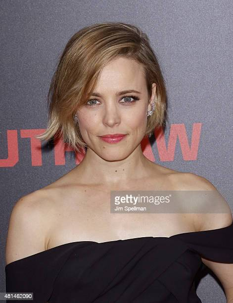 Actress Rachel McAdams attends the 'Southpaw' New York premiere at AMC Loews Lincoln Square on July 20 2015 in New York City