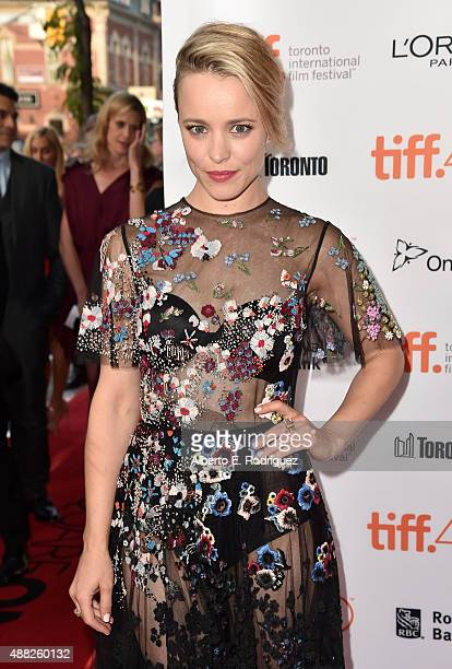 Actress Rachel McAdams attends the 'Spotlight' premiere during the 2015 Toronto International Film Festival at the Princess of Wales Theatre on...