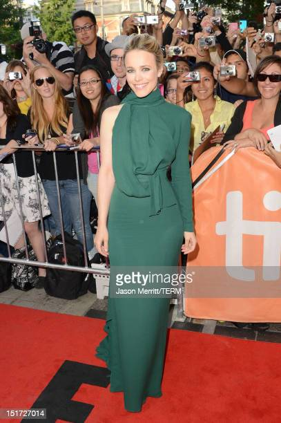 Actress Rachel McAdams attends the 'To The Wonder' premiere during the 2012 Toronto International Film Festival at the Princess of Wales Theatre on...