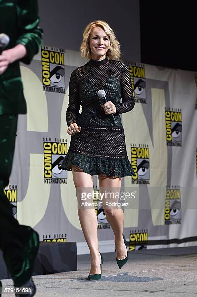 "Actress Rachel McAdams from Marvel Studios' 'Doctor Strange"" attends the San Diego ComicCon International 2016 Marvel Panel in Hall H on July 23 2016..."