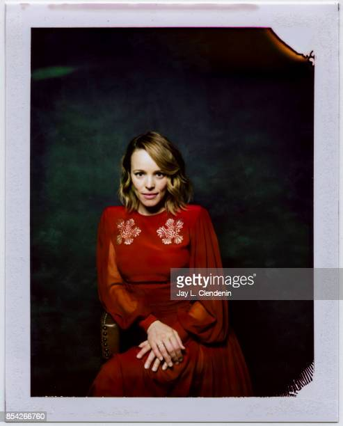 Actress Rachel McAdams from the film 'Disobedience' is photographed on polaroid film at the LA Times HQ at the 42nd Toronto International Film...