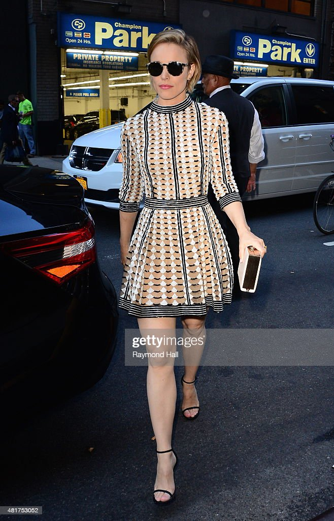 Actress Rachel McAdams is seen on 'Good Morning America' on July 23 2015 in New York City
