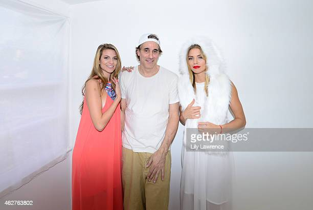 Actress Rachel McCord photographer Michael Bezjian and actress AnnaLynne McCord attend as Mayasutra hosts The Starving Artists Project on February 3...