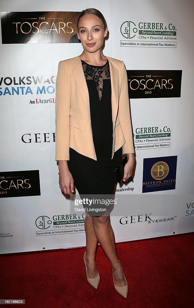 Actress Rachel McDowall attends the 6th Annual Toscar Awards at the Egyptian Theatre on February 19, 2013 in Hollywood, California.