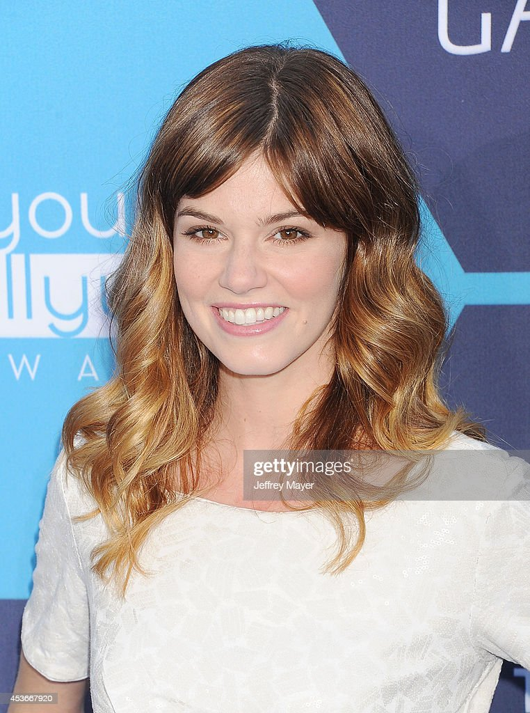 Actress Rachel Melvin arrives at the 16th Annual Young Hollywood Awards at The Wiltern on July 27 2014 in Los Angeles California