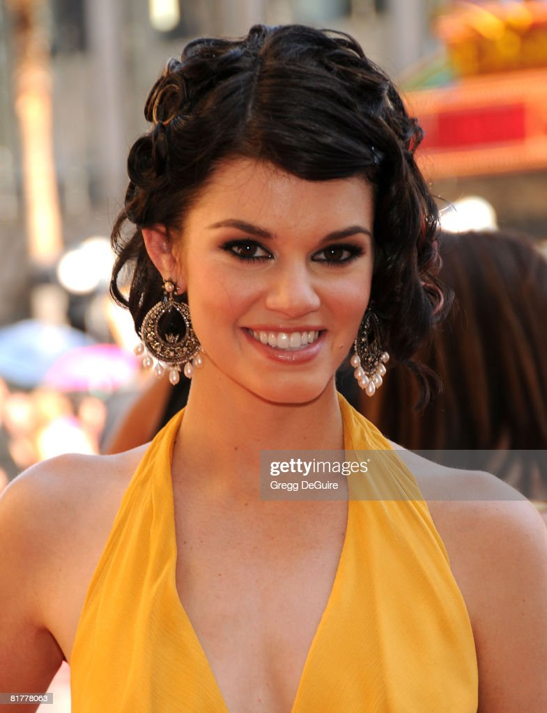 Actress Rachel Melvin arrives at the 35th Annual Daytime Emmy Awards at the Kodak Theatre on June 20, 2008 in Los Angeles, California.