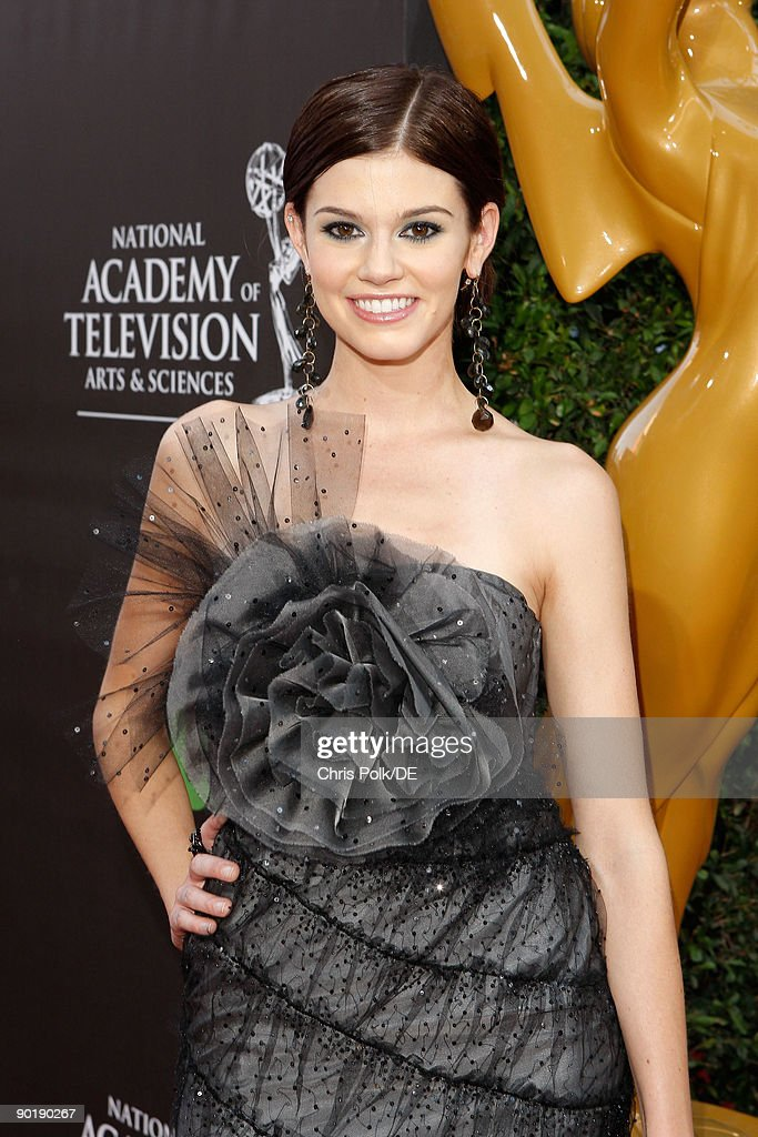 Actress Rachel Melvin arrives at the 36th Annual Daytime Emmy Awards at The Orpheum Theatre on August 30, 2009 in Los Angeles, California.