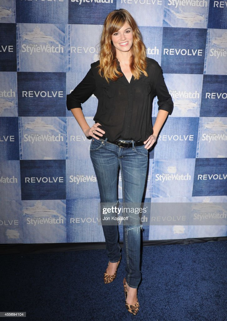 Actress Rachel Melvin arrives at the People StyleWatch 4th Annual Denim Awards Issue at The Line on September 18 2014 in Los Angeles California