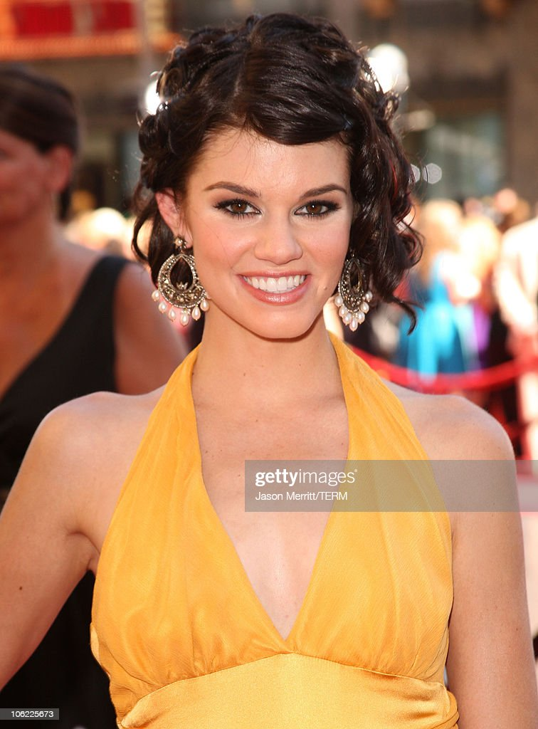 Actress <a gi-track='captionPersonalityLinkClicked' href=/galleries/search?phrase=Rachel+Melvin&family=editorial&specificpeople=594120 ng-click='$event.stopPropagation()'>Rachel Melvin</a> arrives to The 35th Annual Daytime Emmy Awards at the Kodak Theatre on June 20, 2008 in Los Angeles, California.