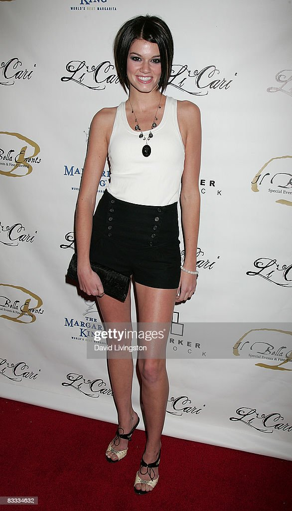Actress Rachel Melvin attends Los Angeles Fashion Week's grand finale party in the LA Arts District on October 17, 2008 in Los Angeles, California.