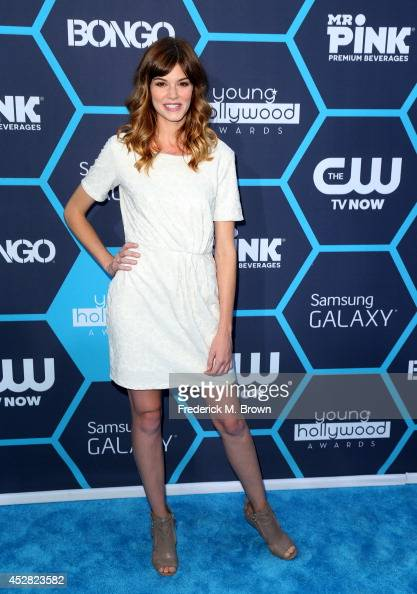 Actress Rachel Melvin attends the 2014 Young Hollywood Awards brought to you by Samsung Galaxy at The Wiltern on July 27 2014 in Los Angeles...