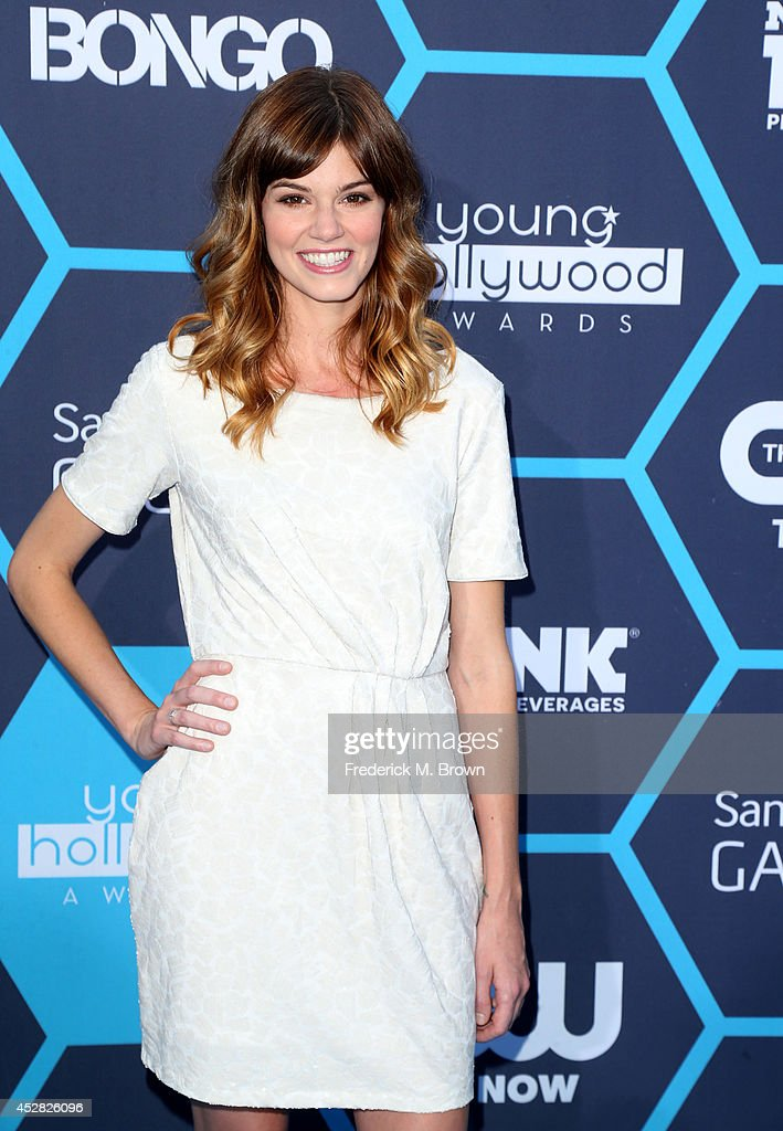 Actress Rachel Melvin attends the 2014 Young Hollywood Awards brought to you by Samsung Galaxy at The Wiltern on July 27, 2014 in Los Angeles, California.