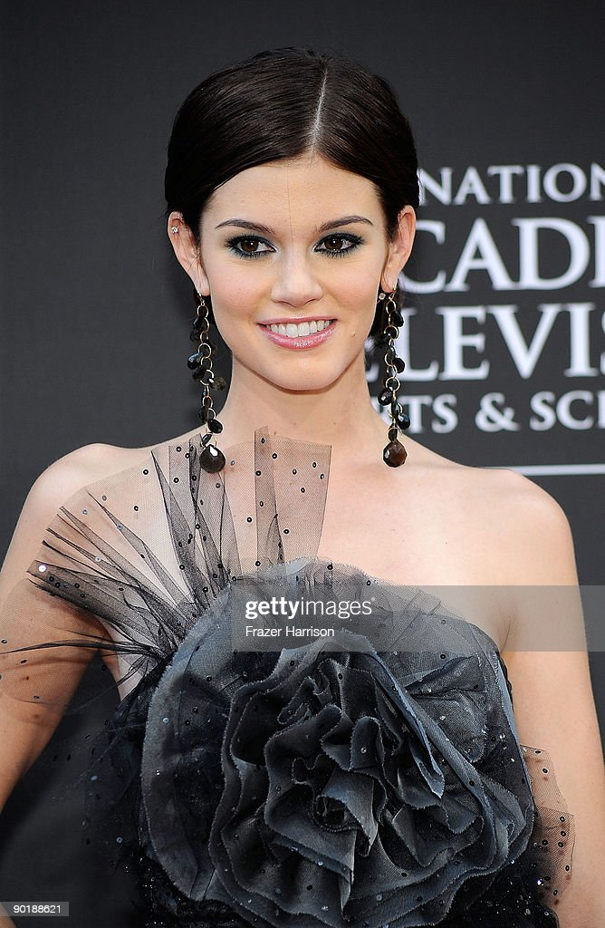Actress Rachel Melvin attends the 36th Annual Daytime Emmy Awards at The Orpheum Theatre on August 30, 2009 in Los Angeles, California. (Photo by Frazer Harrison/Getty Images