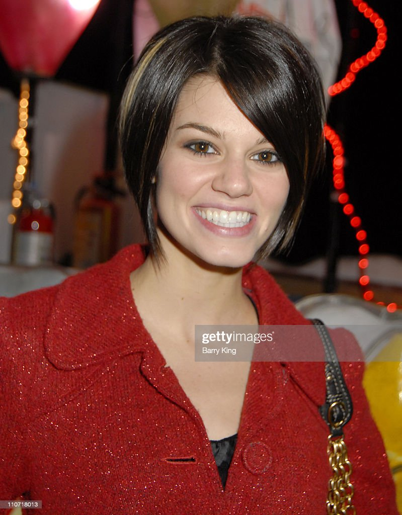 Actress <a gi-track='captionPersonalityLinkClicked' href=/galleries/search?phrase=Rachel+Melvin&family=editorial&specificpeople=594120 ng-click='$event.stopPropagation()'>Rachel Melvin</a> attends the 'Live Positively Holiday Parade' held at Staples Center and LA Live on December 13, 2008 in Los Angeles, California.