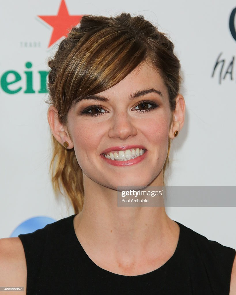 Actress Rachel Melvin attends the OK! TV Emmy pre-awards party at Sofitel Hotel on August 21, 2014 in Los Angeles, California.
