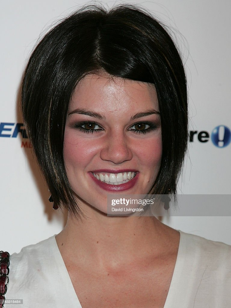 Actress Rachel Melvin attends the 'Soaps In The City' fundraiser at the East West Lounge on October 16, 2008 in West Hollywood, California.