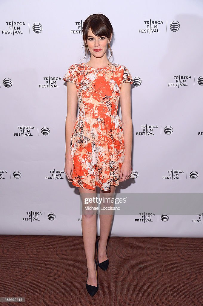 Actress Rachel Melvin attends the 'Zombeavers' Premiere during the 2014 Tribeca Film Festival at Chelsea Bow Tie Cinemas on April 19, 2014 in New York City.