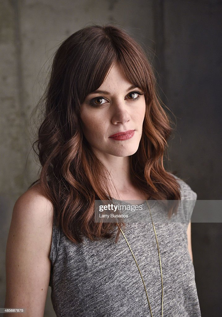Actress <a gi-track='captionPersonalityLinkClicked' href=/galleries/search?phrase=Rachel+Melvin&family=editorial&specificpeople=594120 ng-click='$event.stopPropagation()'>Rachel Melvin</a> from 'Zombeavers' poses for the 2014 Tribeca Film Festival Getty Images Studio on April 19, 2014 in New York City.