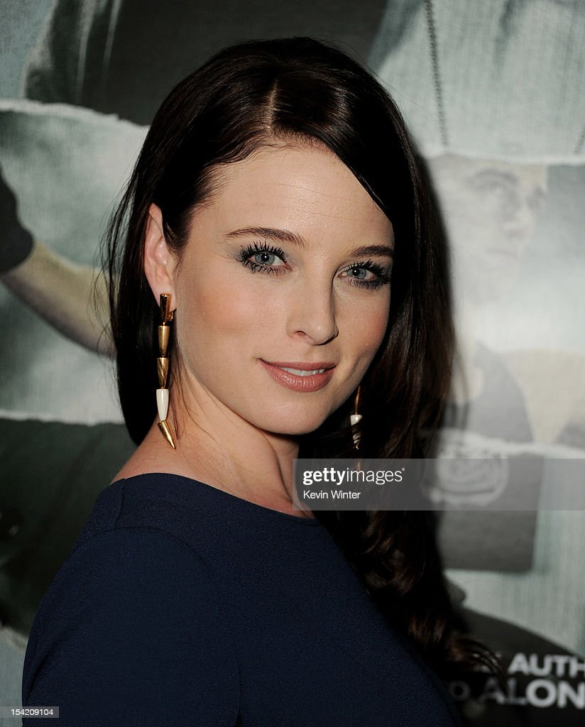 Actress Rachel Nichols arrives at the premiere of Summit Entertainment's 'Alex Cross' at the Arclight Theater on October 15, 2012 in Los Angeles, California.
