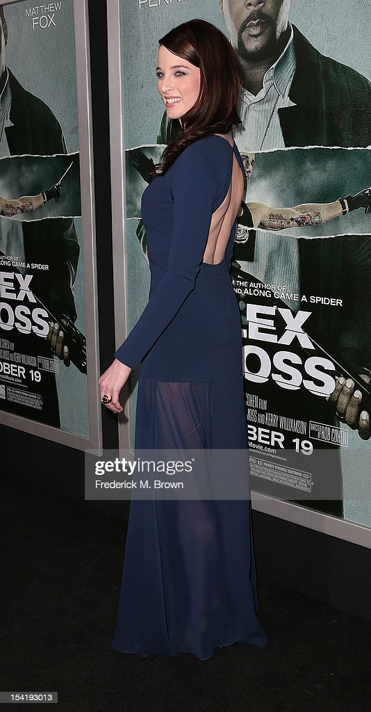 Actress Rachel Nichols attends the Premiere Of Summit Entertainment's 'Alex Cross' at the ArcLight Cinemas Cinerama Dome on October 15, 2012 in Hollywood, California.