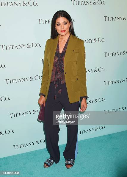 Actress Rachel Roy arrives at the Tiffany And Co Celebrates Unveiling Of Renovated Beverly Hills Store at Tiffany Co on October 13 2016 in Beverly...
