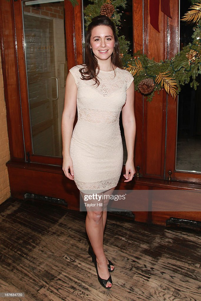 Actress Rachel Spencer Hewitt attends the after party for the opening night of 'A Civil War Christmas' at Phebe's on December 4, 2012 in New York City.