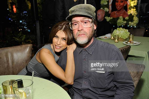 Actress Rachel Sterling and filmmaker Patrick Hoelck attend 'Decades of Glamour' presented by BVLGARI on February 25 2014 in West Hollywood California