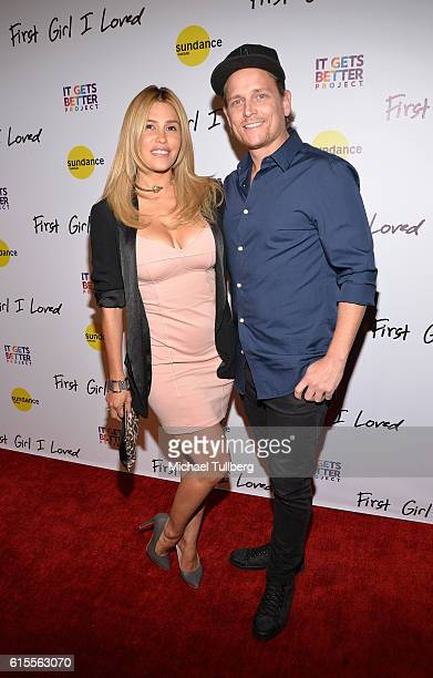 Actress Rachel Sterling and professional dancer Damian Whitewood attend the premiere of PSH Collective's 'First Girl I Loved' at the Vista Theatre on...