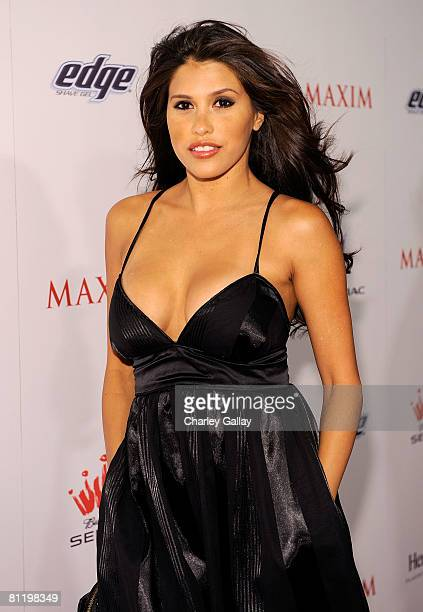 Actress Rachel Sterling arrives at Maxim's 2008 Hot 100 Party held at Paramount Studios on May 21 2008 in Los Angeles California