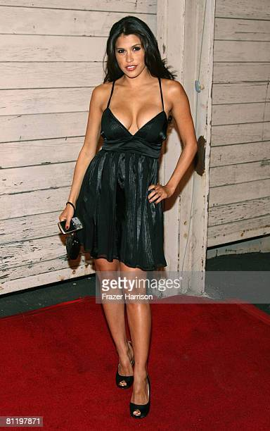 Actress Rachel Sterling arrives at MAXIM's 2008 Hot 100 party on May 21 2008 at the Paramount studio Lot ln Los Angeles California