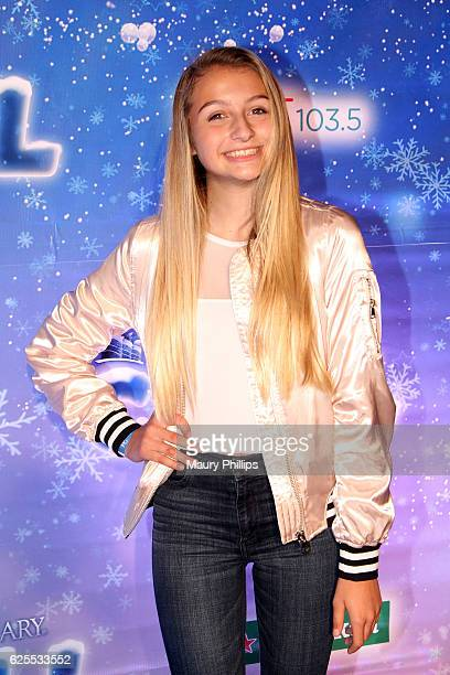 Actress Rachel Sterling arrives at The Queen Mary's CHILL Tree Lighting Ceremony at The Queen Mary on November 23 2016 in Long Beach California