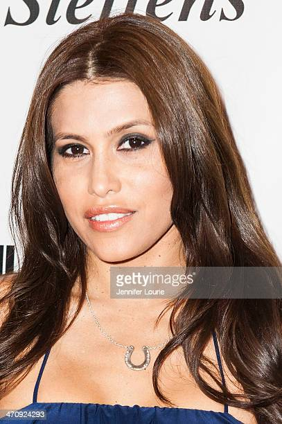Actress Rachel Sterling attends Genlux Magazine's celebration of their new issue featuring Katheryn Winnick of Vikings at the Luxe Hotel on February...