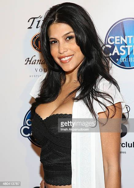 Actress Rachel Sterling attends the LA Celebrity MS Walk Kick Off Event at SupperClub Los Angeles on March 24 2014 in Los Angeles California
