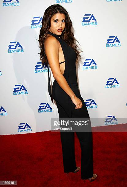 Actress Rachel Sterling attends the 'EA Games' launching three new video games 'Harry Potter And The Chamber of Secrets' 'James Bond 007Nightlife'...
