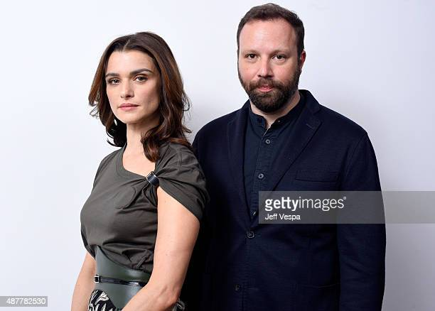 Actress Rachel Weisz and director Yorgos Lanthimos from 'The Lobster' pose for a portrait during the 2015 Toronto International Film Festival at the...