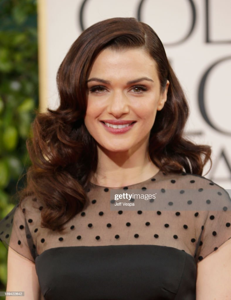 Actress Rachel Weisz arrives at the 70th Annual Golden Globe Awards held at The Beverly Hilton Hotel on January 13, 2013 in Beverly Hills, California.