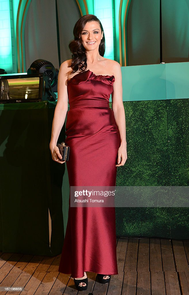Actress Rachel Weisz attend the 'Oz: the Great and Powerful' Japan Premiere at Roppongi Hills on February 20, 2013 in Tokyo, Japan. The film will open on March 8 in Japan.