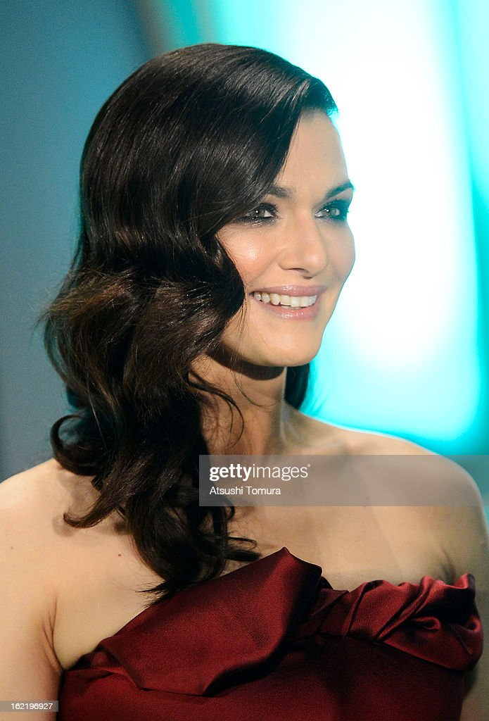 Actress <a gi-track='captionPersonalityLinkClicked' href=/galleries/search?phrase=Rachel+Weisz&family=editorial&specificpeople=204656 ng-click='$event.stopPropagation()'>Rachel Weisz</a> attend the 'Oz: the Great and Powerful' Japan Premiere at Roppongi Hills on February 20, 2013 in Tokyo, Japan. The film will open on March 8 in Japan.