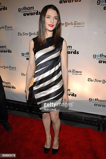 Actress Rachel Weisz attends the 18th Annual Gotham Independent Film Awards at Museum of Finance on December 2 2008 in New York City