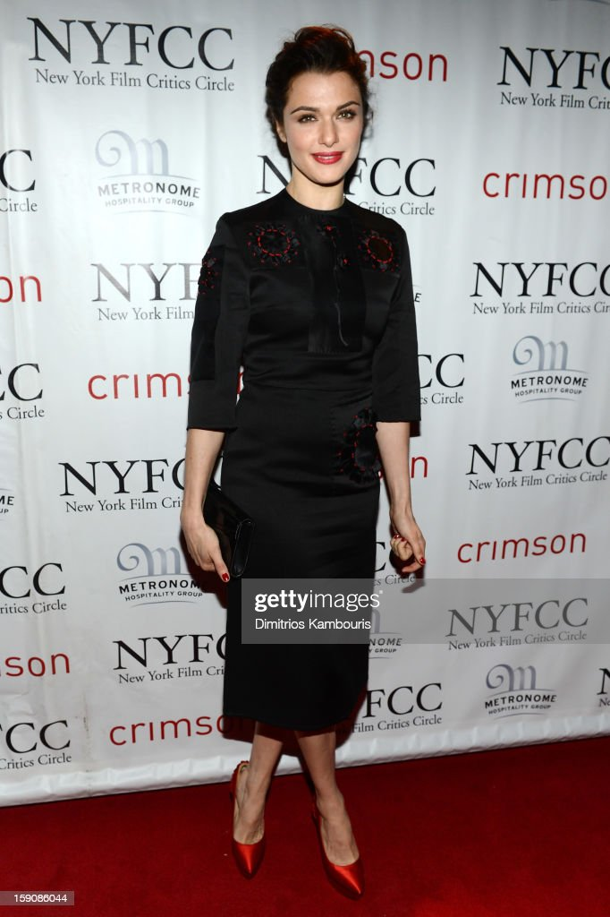 Actress Rachel Weisz attends the 2012 New York Film Critics Circle Awards at Crimson on January 7, 2013 in New York City.