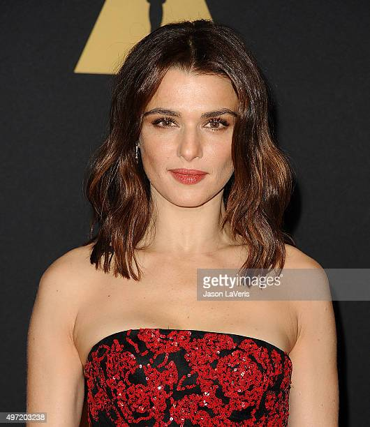 Actress Rachel Weisz attends the 7th annual Governors Awards at The Ray Dolby Ballroom at Hollywood Highland Center on November 14 2015 in Hollywood...