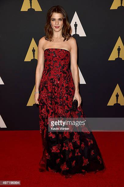 Actress Rachel Weisz attends the Academy of Motion Picture Arts and Sciences' 7th annual Governors Awards at The Ray Dolby Ballroom at Hollywood...
