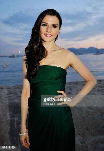 Actress Rachel Weisz attends the Agora Cast Dinner at the Carlton Beach during the 62nd Annual Cannes Film Festival on May 17 2009 in Cannes France