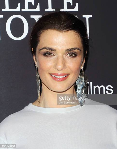 Actress Rachel Weisz attends the 'Complete Unknown' New York premiere at The Metrograph on August 23 2016 in New York City