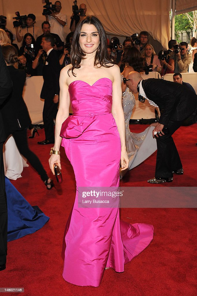 Actress Rachel Weisz attends the Costume Institute Gala Benefit to celebrate the opening of the 'American Woman: Fashioning a National Identity' exhibition at The Metropolitan Museum of Art on May 3, 2010 in New York City.