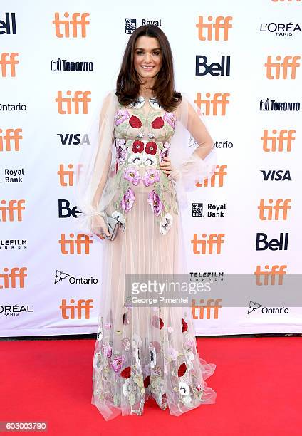 Actress Rachel Weisz attends the 'Denial' premiere during the 2016 Toronto International Film Festival at Princess of Wales Theatre on September 11...