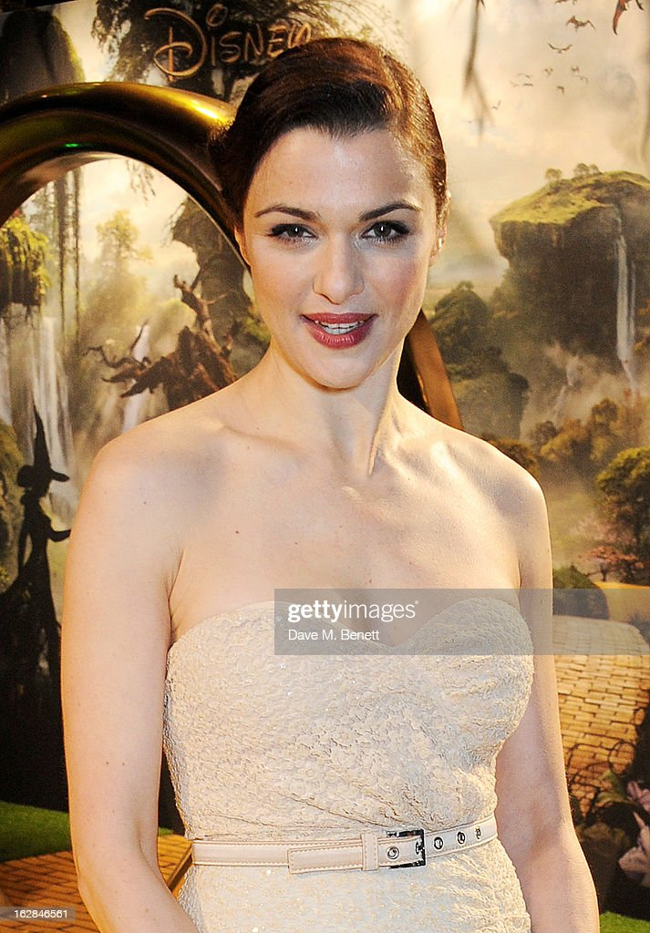 Actress Rachel Weisz attends the European Premiere of 'Oz: The Great and Powerful' at Empire Leicester Square on February 28, 2013 in London, England.
