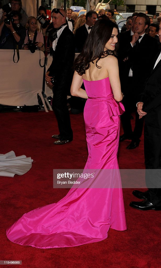 Actress <a gi-track='captionPersonalityLinkClicked' href=/galleries/search?phrase=Rachel+Weisz&family=editorial&specificpeople=204656 ng-click='$event.stopPropagation()'>Rachel Weisz</a> attends the Metropolitan Museum of Art's 2010 Costume Institute Ball at The Metropolitan Museum of Art on May 3, 2010 in New York City.