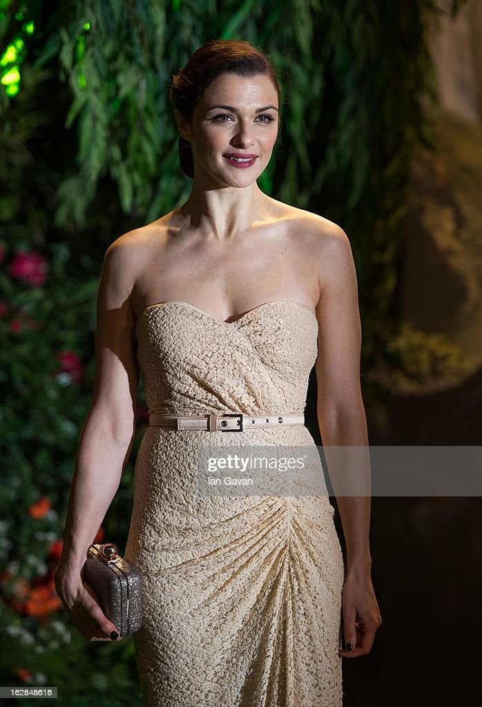 Actress Rachel Weisz attends the UK film premiere of Oz: The Great and Powerful at the Empire Leicester Square on February 28, 2013 in London, England.