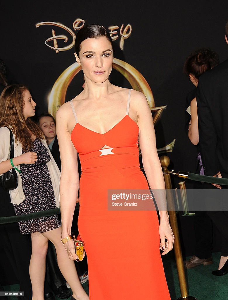 Actress Rachel Weisz attends the world premiere of Disney's 'OZ The Great And Powerful' at the El Capitan Theatre on February 13, 2013 in Hollywood, California.